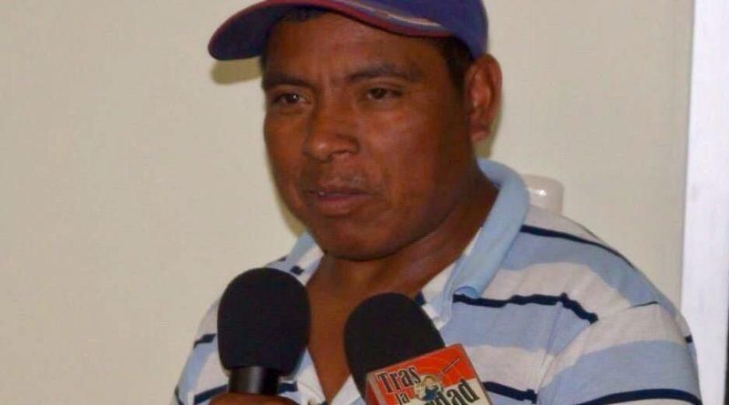 Matan a líder indígena Tolupan