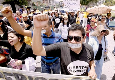 Extremadamente delicada la libertad de expresión en Honduras, refleja estudio