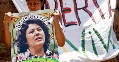 Expertos de la ONU lamentan que intelectuales del crimen de Berta Cáceres sigan libres